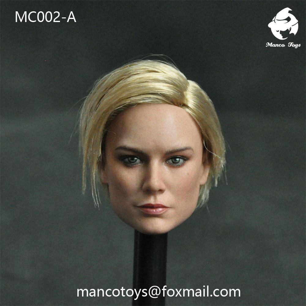 NEW PRODUCT: Mancotoys MC002 1/6 three Western female heads (C.M.) 14511810