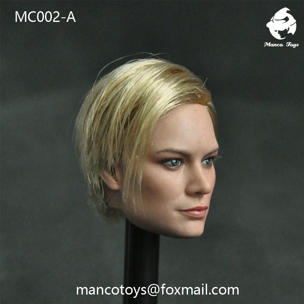 NEW PRODUCT: Mancotoys MC002 1/6 three Western female heads (C.M.) 14511812