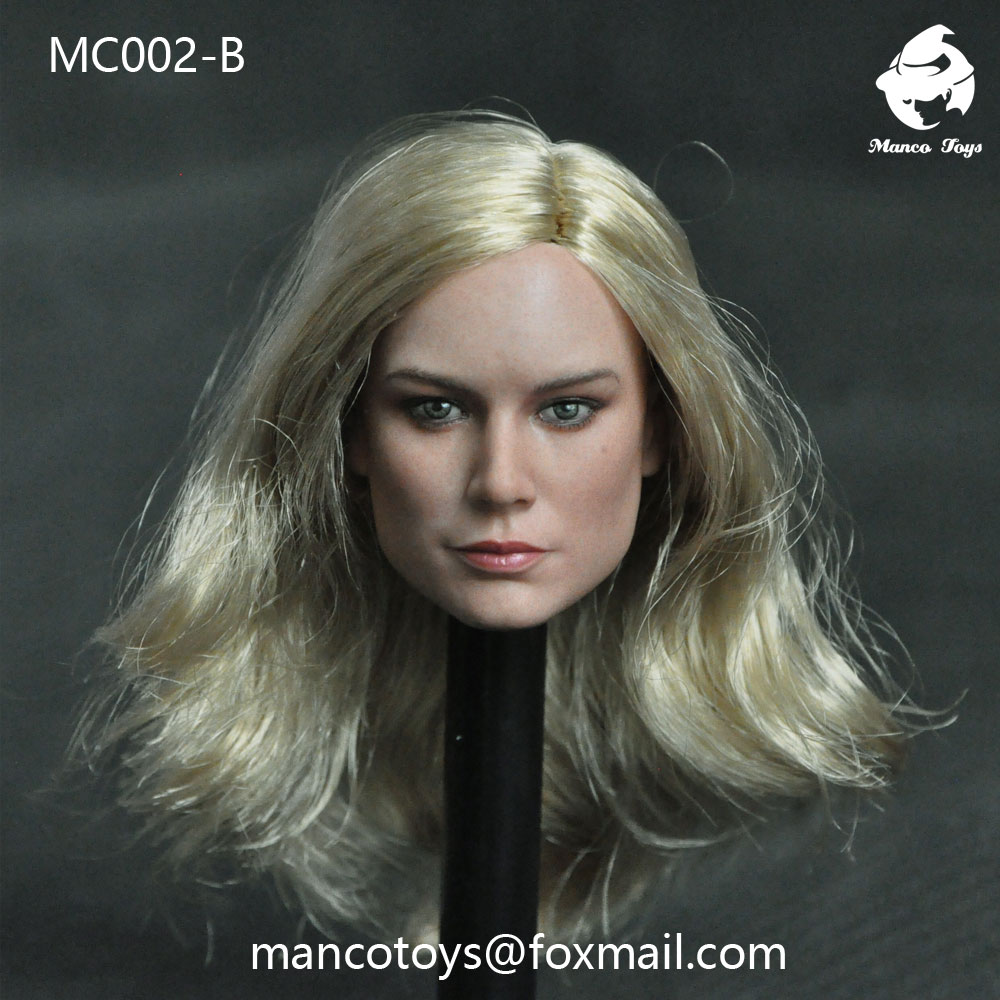NEW PRODUCT: Mancotoys MC002 1/6 three Western female heads (C.M.) 14511910