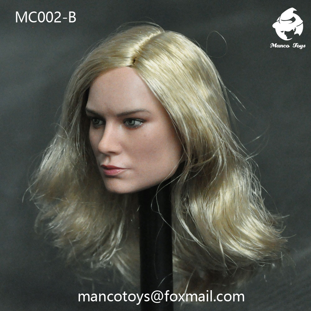 NEW PRODUCT: Mancotoys MC002 1/6 three Western female heads (C.M.) 14512010
