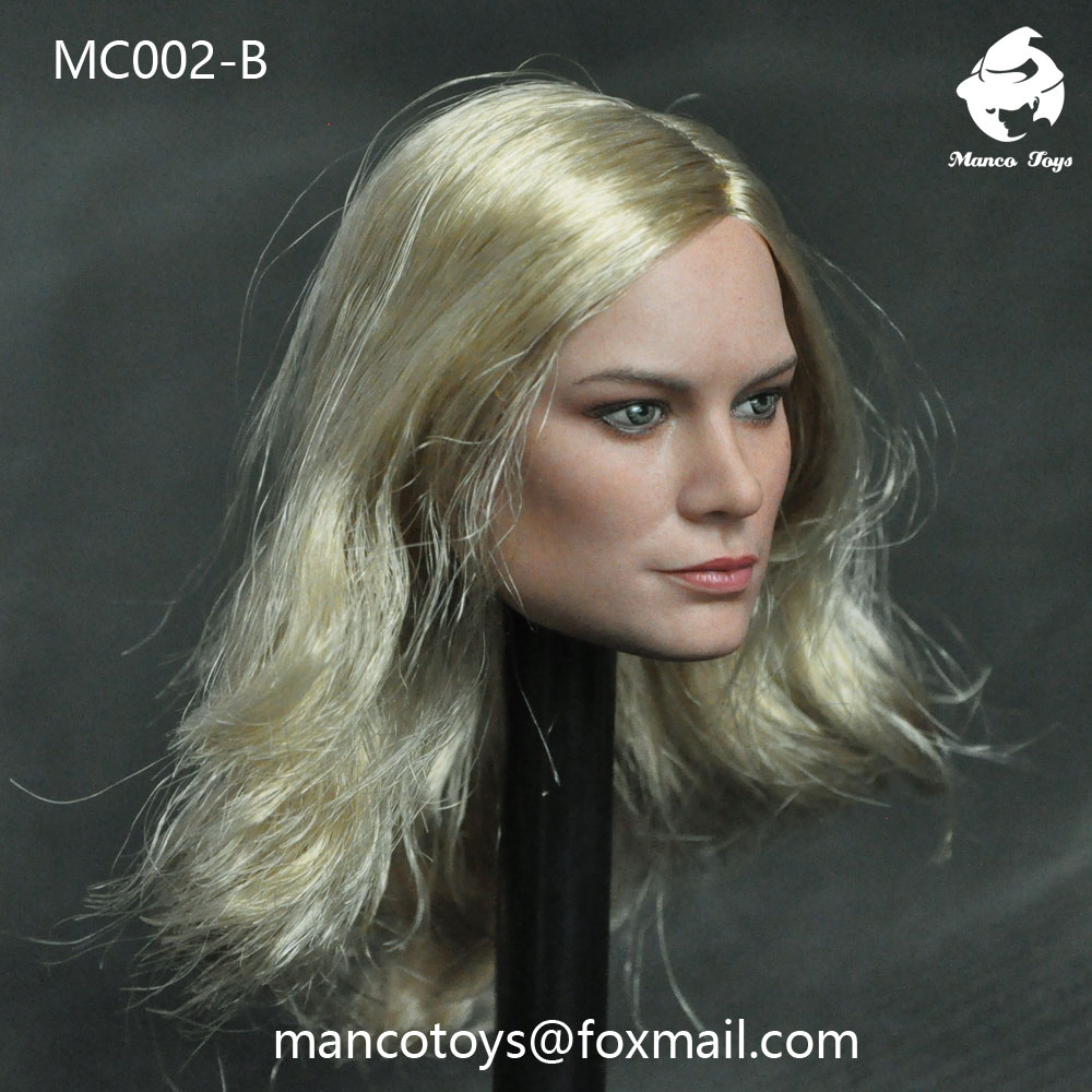NEW PRODUCT: Mancotoys MC002 1/6 three Western female heads (C.M.) 14512011