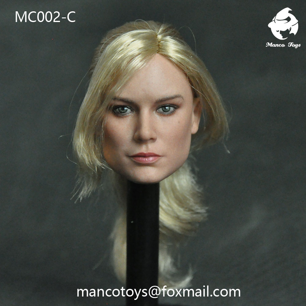 NEW PRODUCT: Mancotoys MC002 1/6 three Western female heads (C.M.) 14512110