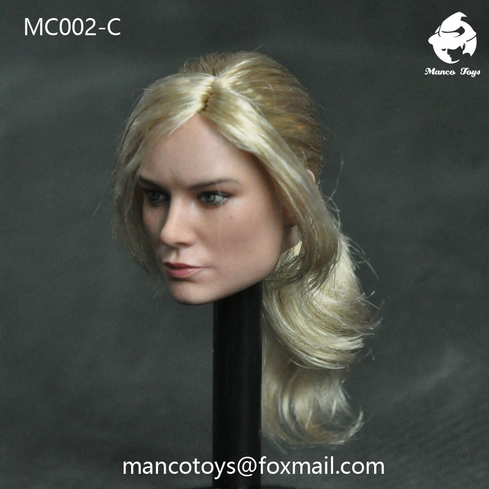 NEW PRODUCT: Mancotoys MC002 1/6 three Western female heads (C.M.) 14512210