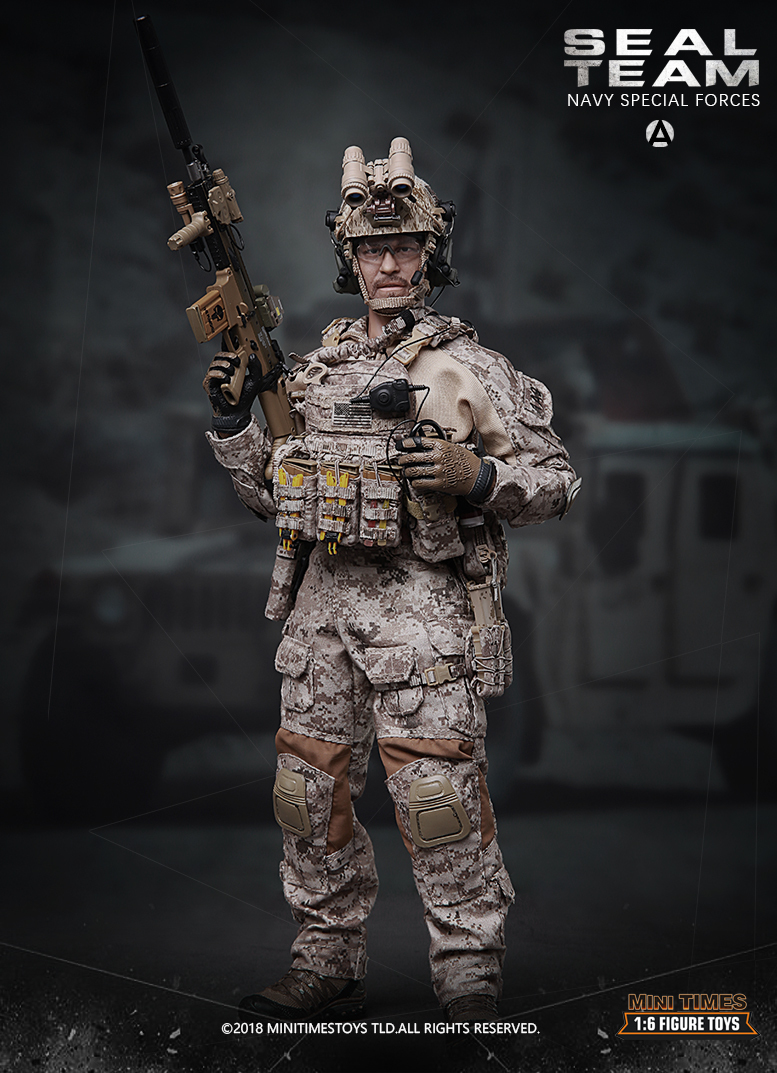 minitimes - NEW PRODUCT: MINI TIMES TOYS US NAVY SEAL TEAM SPECIAL FORCES 1/6 SCALE ACTION FIGURE MT-M012 1452