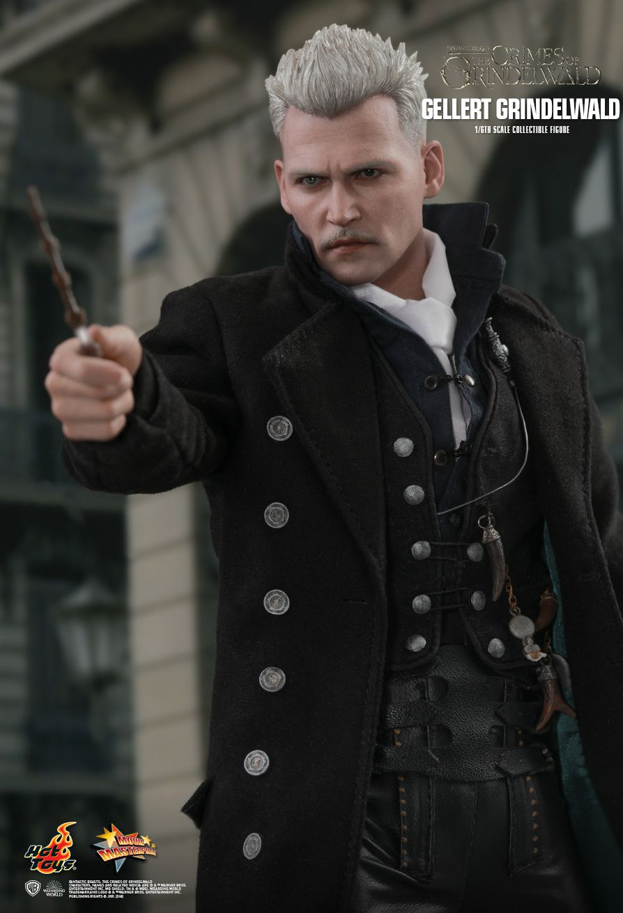 NEW PRODUCT: HOT TOYS: FANTASTIC BEASTS: THE CRIMES OF GRINDELWALD GELLERT GRINDELWALD 1/6TH SCALE COLLECTIBLE FIGURE 1462