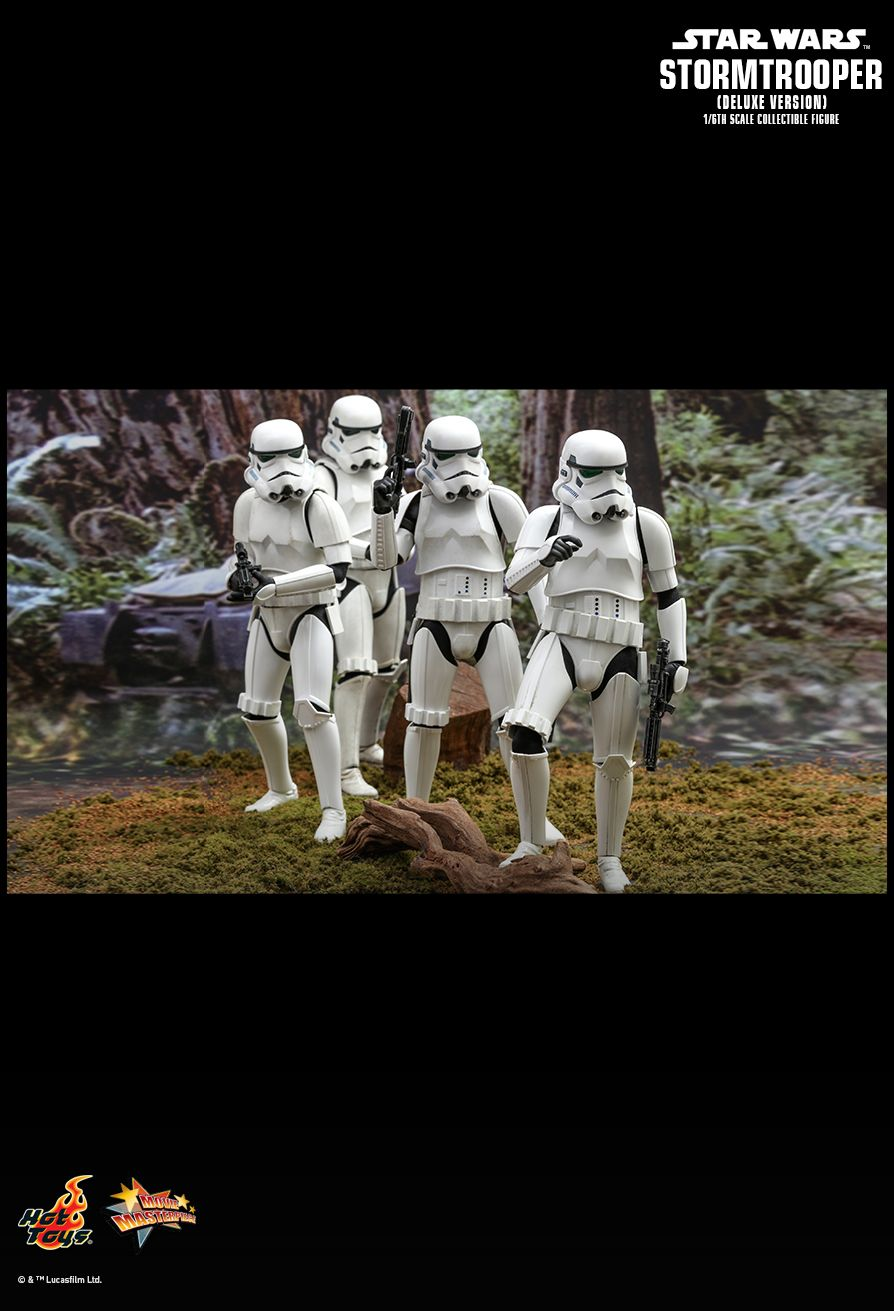 stormtrooper - NEW PRODUCT: HOT TOYS: STAR WARS STORMTROOPER (DELUXE VERSION) 1/6TH SCALE COLLECTIBLE FIGURE 1463