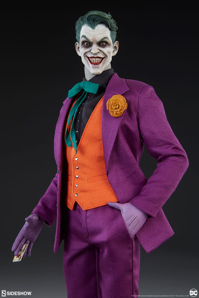 batman - NEW PRODUCT: SIDESHOW COLLECTIBLES: The Joker Sixth Scale Figure (Exclusive Laughing Head Sculpt) 1464