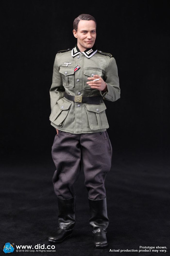 DiD - NEW PRODUCT: Gerd - WH Radio Operator - WWII German Communications Series 3 - DiD 1/6 Scale Figure 1469