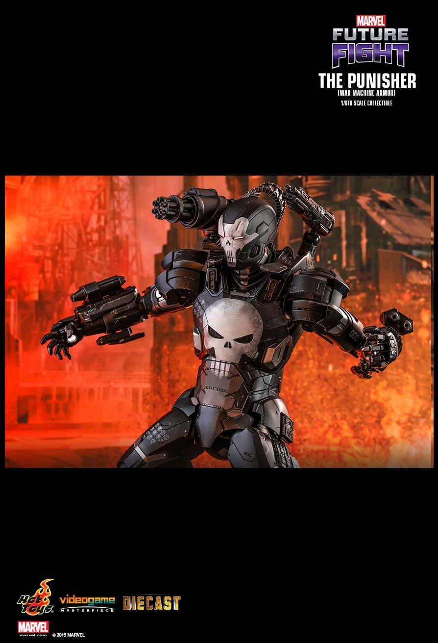 Videogame - NEW PRODUCT: HOT TOYS: MARVEL FUTURE FIGHT THE PUNISHER (WAR MACHINE ARMOR) 1/6TH SCALE COLLECTIBLE FIGURE 1478