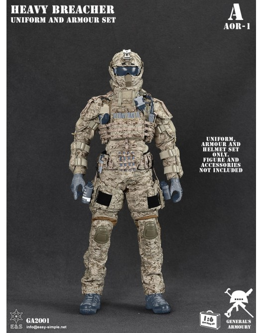 General - NEW PRODUCT: General's Armoury GA2001 1/6 Scale Heavy Breacher Uniform and Armour Set 15-52811