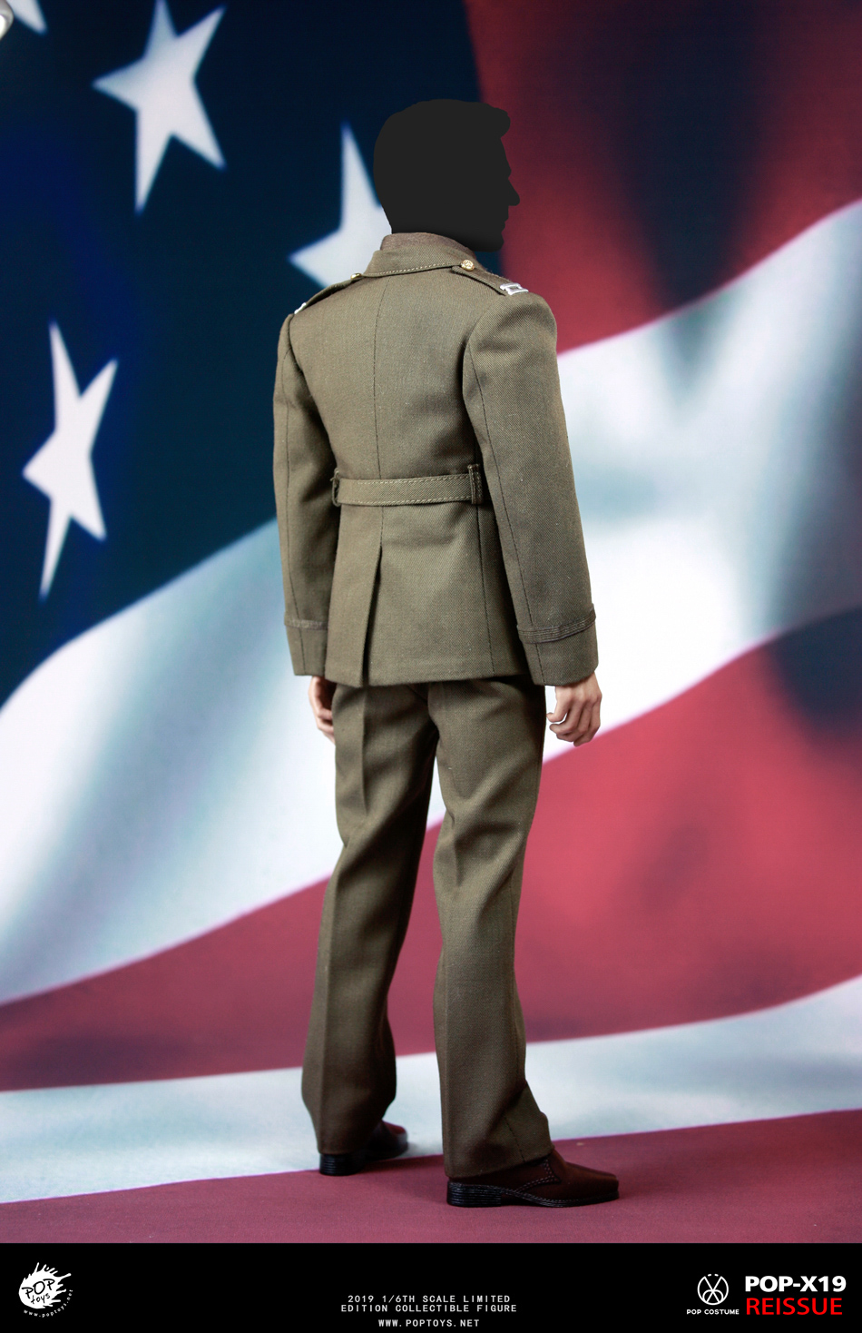 male - NEW PRODUCT: POPTOYS: 1/6 Series X19 World War II Edition Golden Age US Team Uniform Uniform Set - 19 Years Reprint 15021510