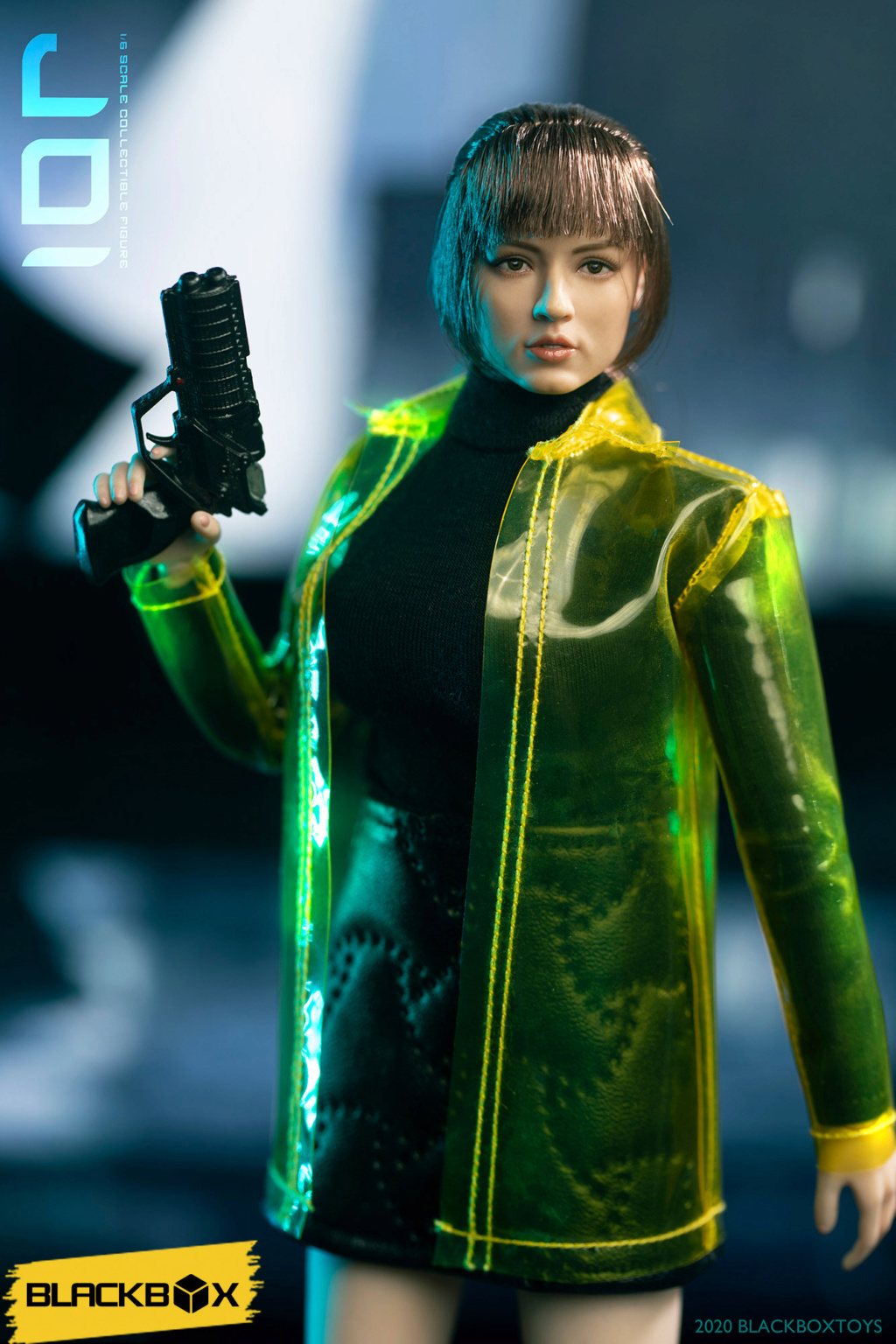 "Sci-Fi - NEW PRODUCT: Black Box Toy: 1/6 Who Am I Series-""Blade Runner Virtual Girl"" (BBT9018) 15024211"