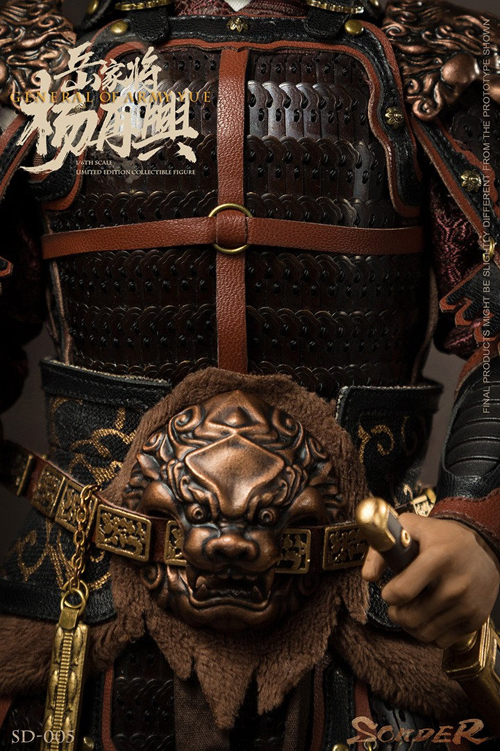 military - NEW PRODUCT: Sonder: 1/6 Song Dynasty Series-Yue Jiaxing Yang Zaixing Action Figure (SD005#) 15065912