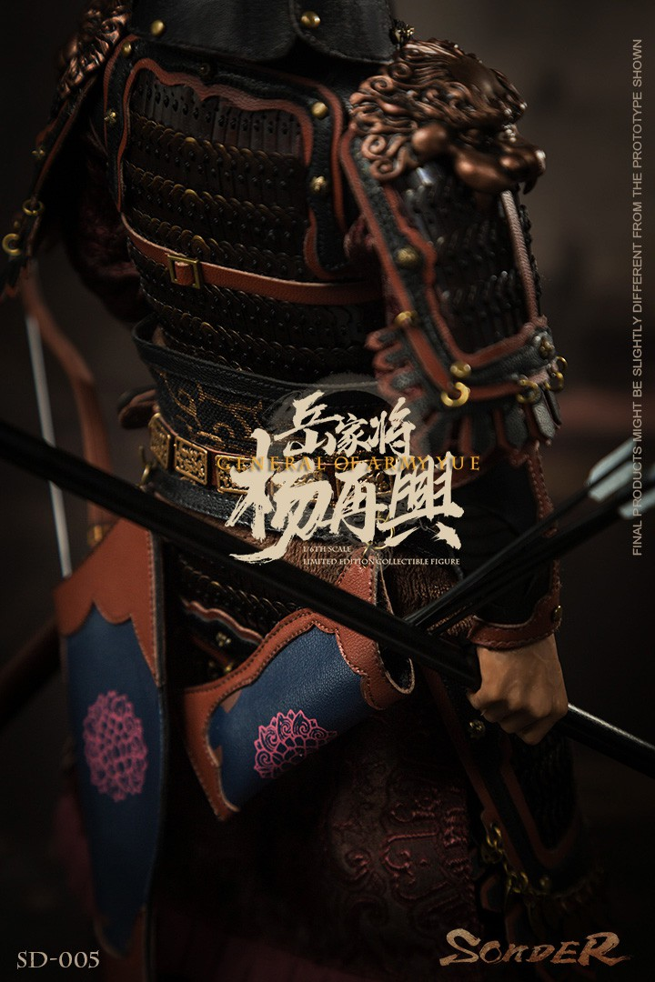 military - NEW PRODUCT: Sonder: 1/6 Song Dynasty Series-Yue Jiaxing Yang Zaixing Action Figure (SD005#) 15070113