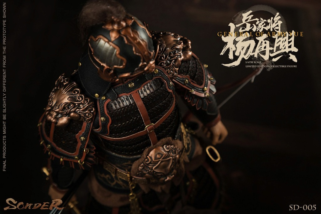 military - NEW PRODUCT: Sonder: 1/6 Song Dynasty Series-Yue Jiaxing Yang Zaixing Action Figure (SD005#) 15070413