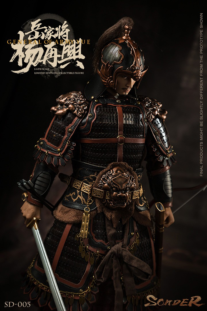 military - NEW PRODUCT: Sonder: 1/6 Song Dynasty Series-Yue Jiaxing Yang Zaixing Action Figure (SD005#) 15070713