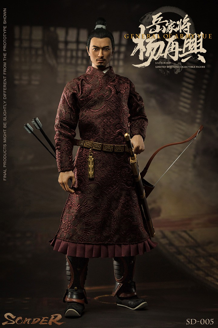 military - NEW PRODUCT: Sonder: 1/6 Song Dynasty Series-Yue Jiaxing Yang Zaixing Action Figure (SD005#) 15071113