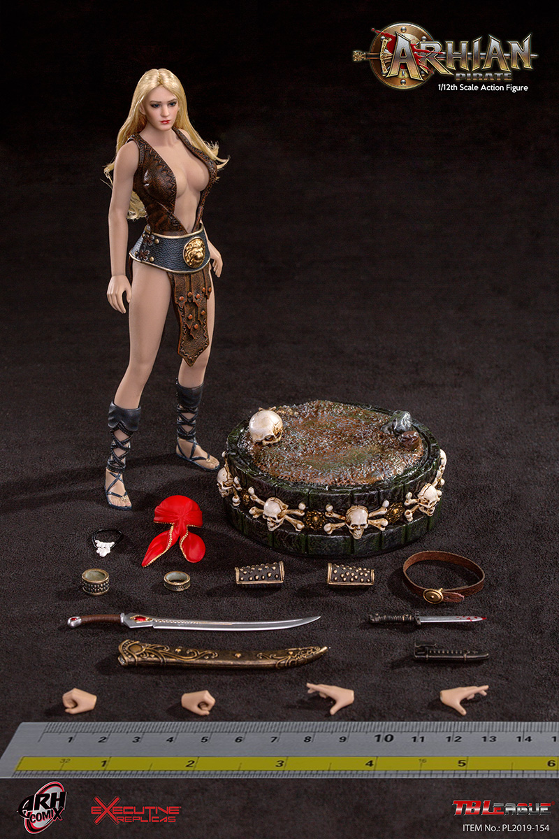 NEW PRODUCT: TBLeague: The first 1/12 movable doll - Arkhalla Queen / Bloodsucking Queen (PL2019-142) 1507410