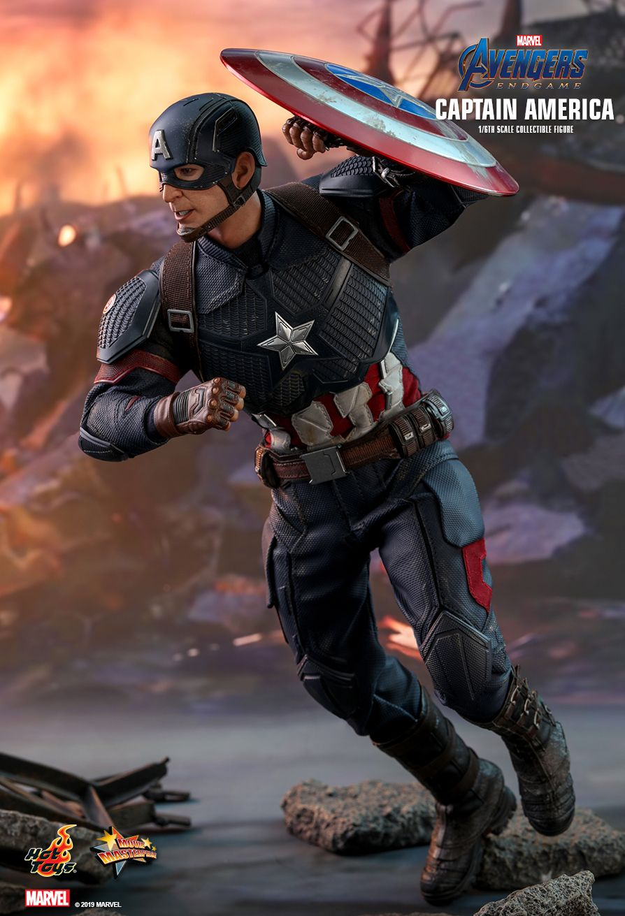 captainamerica - NEW PRODUCT: HOT TOYS: AVENGERS: ENDGAME CAPTAIN AMERICA 1/6TH SCALE COLLECTIBLE FIGURE 15106