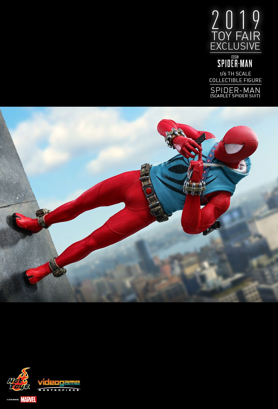 marvel - NEW PRODUCT: HOT TOYS: MARVEL'S SPIDER-MAN SPIDER-MAN (SCARLET SPIDER SUIT) 1/6TH SCALE COLLECTIBLE FIGURE 15114