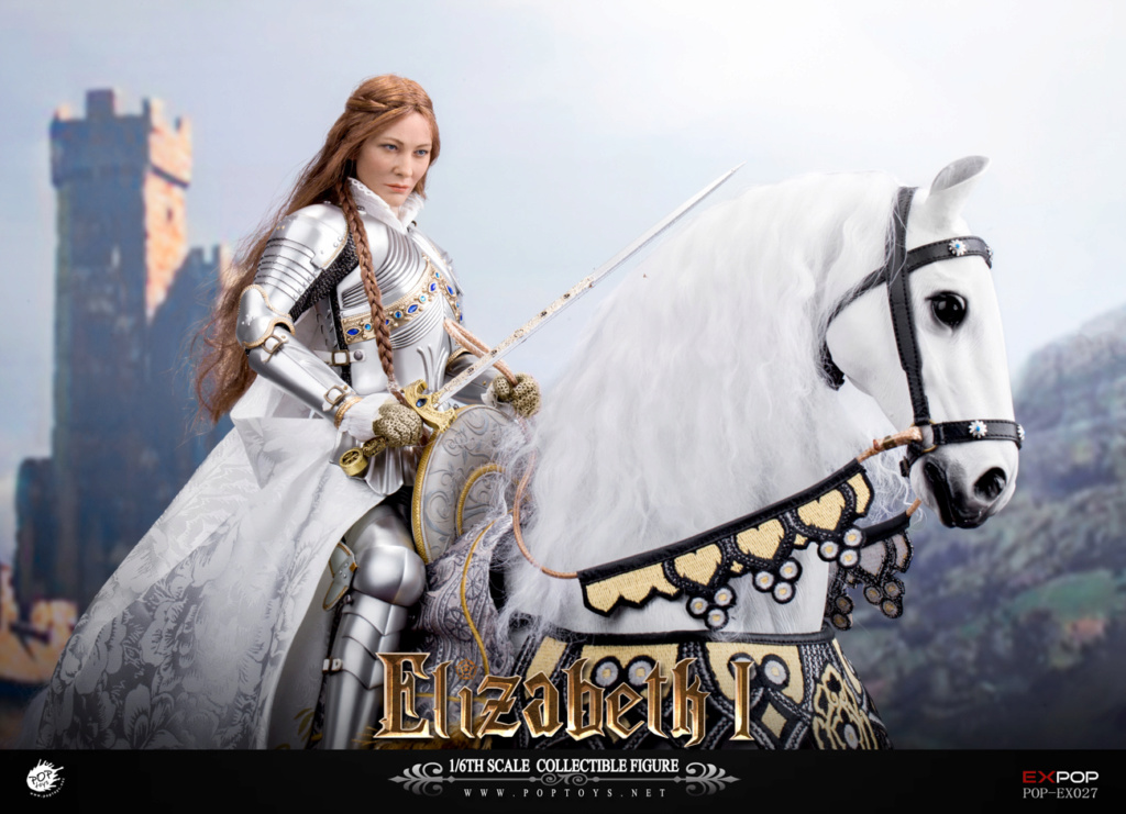 NEW PRODUCT: POPTOYS: 1/6 Queen Elizabeth I Single & Deluxe Edition & War Horse (EX027) 15115010
