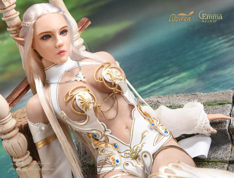 fantasy - NEW PRODUCT: [LXF-1904B] Elf Queen Emma Queen Version 1:6 Figure by Lucifer 15116