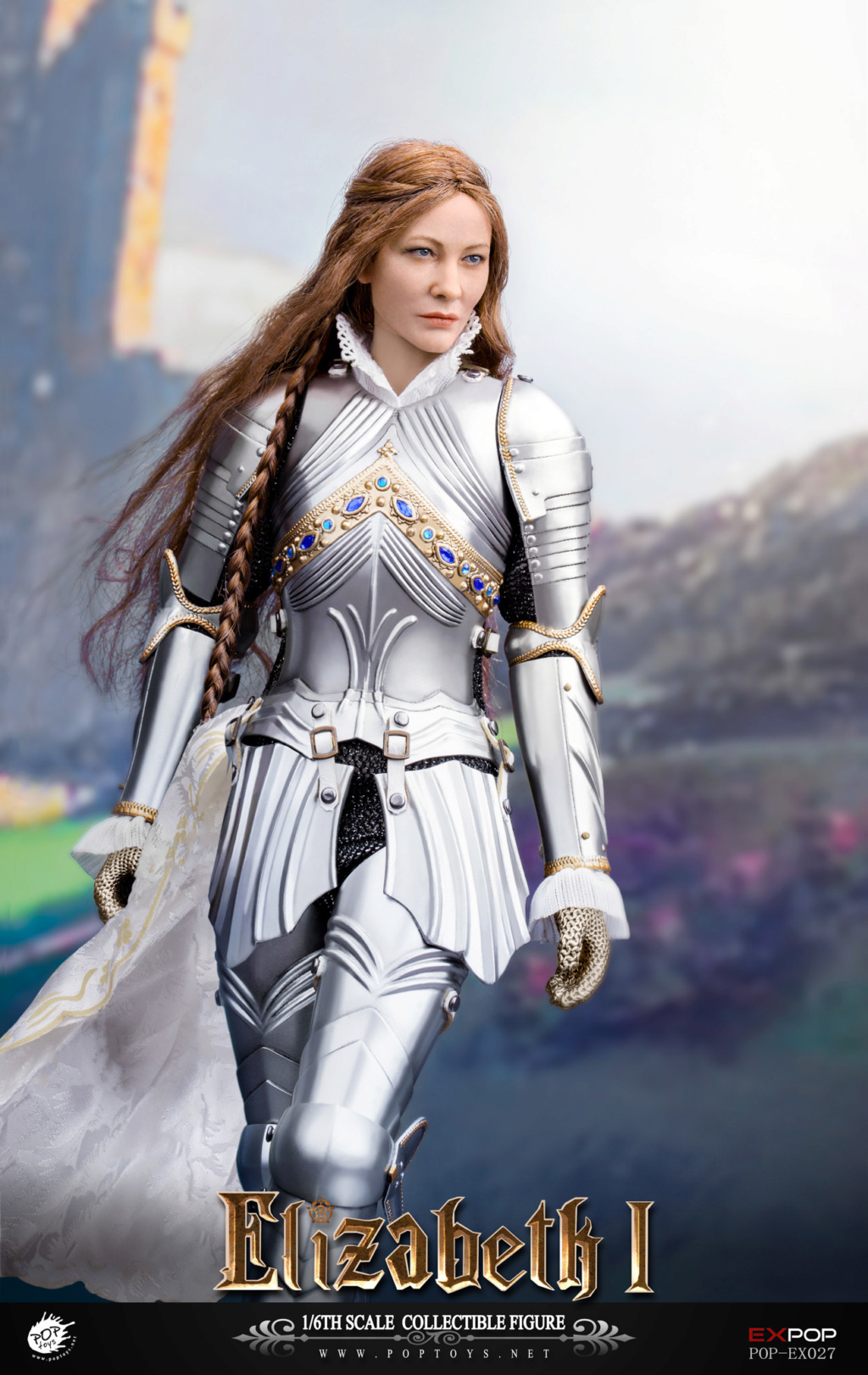 NEW PRODUCT: POPTOYS: 1/6 Queen Elizabeth I Single & Deluxe Edition & War Horse (EX027) 15120310