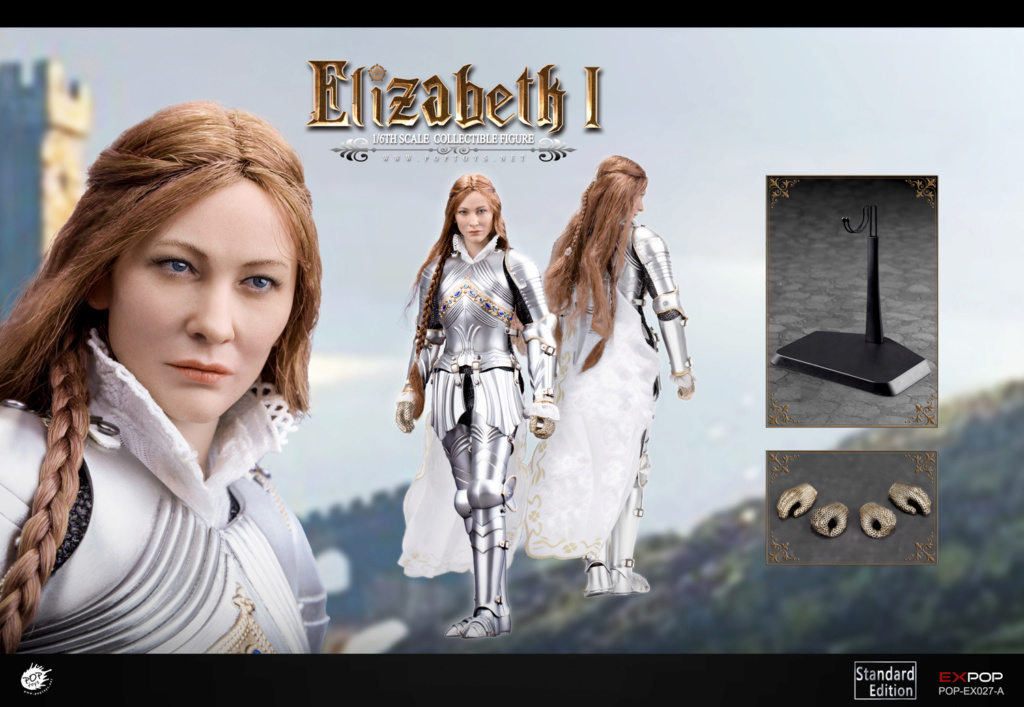 NEW PRODUCT: POPTOYS: 1/6 Queen Elizabeth I Single & Deluxe Edition & War Horse (EX027) 15125210