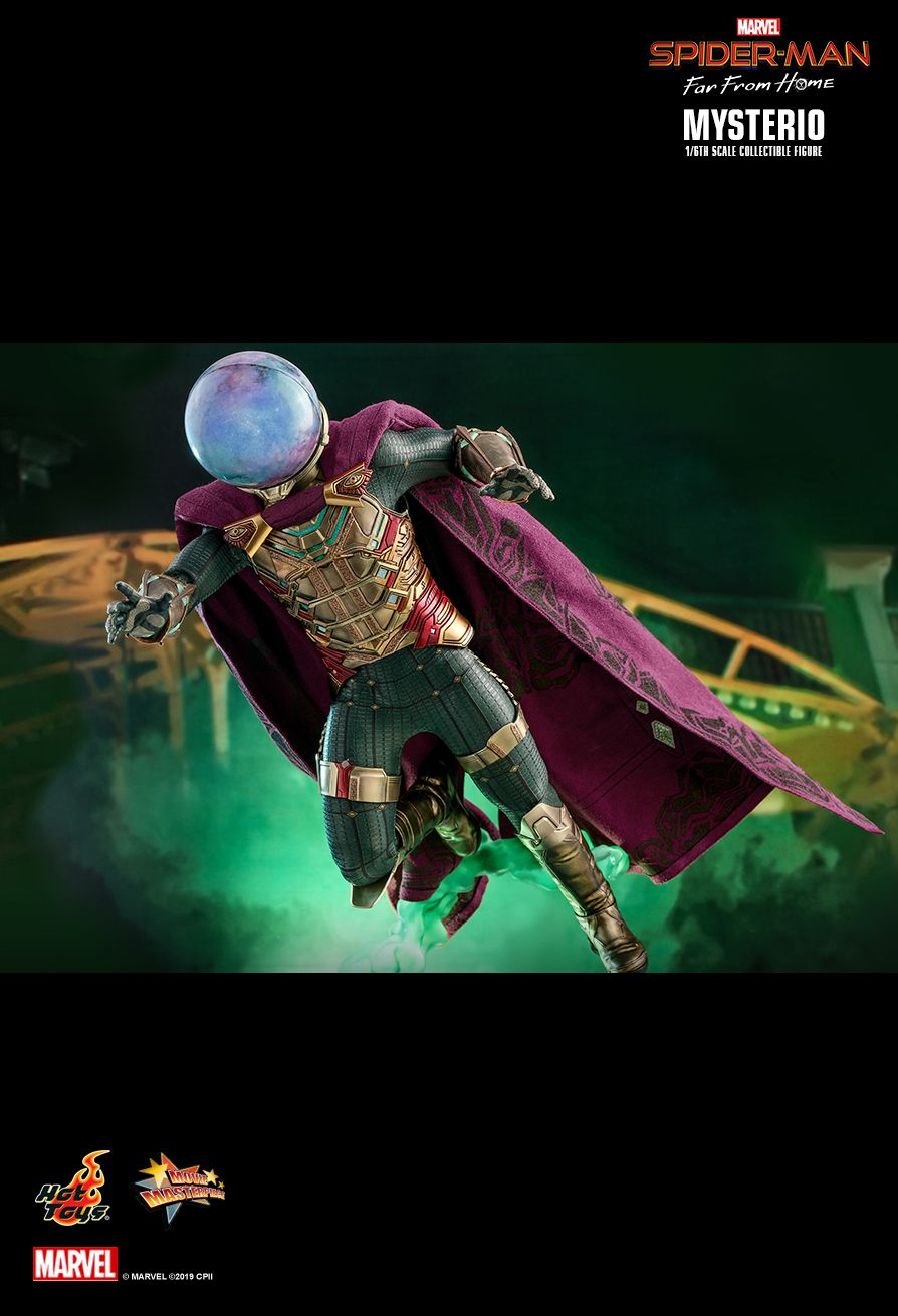 NEW PRODUCT: HOT TOYS: SPIDER-MAN: FAR FROM HOME MYSTERIO 1/6TH SCALE COLLECTIBLE FIGURE 15131