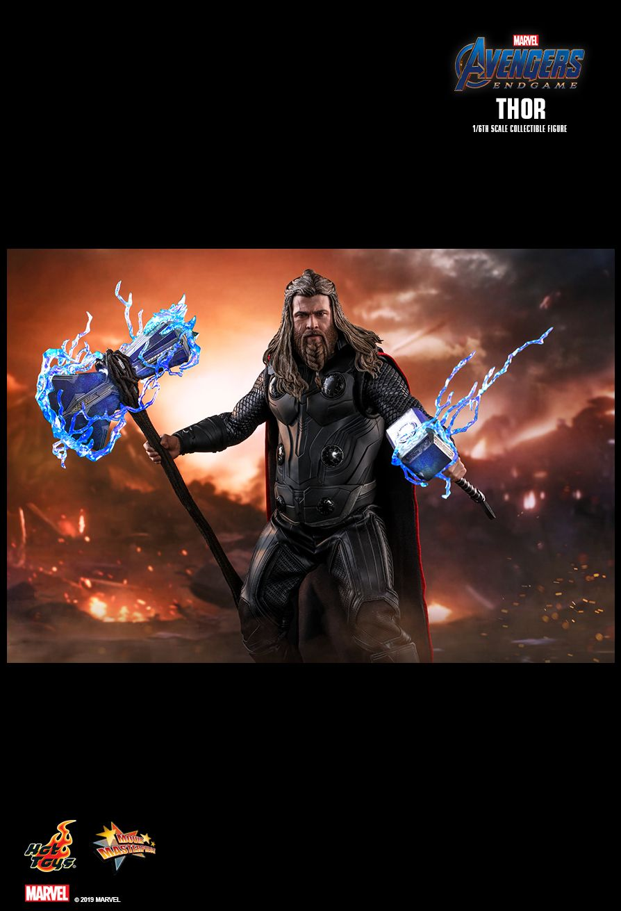 male - NEW PRODUCT: HOT TOYS: AVENGERS: ENDGAME THOR 1/6TH SCALE COLLECTIBLE FIGURE 15137