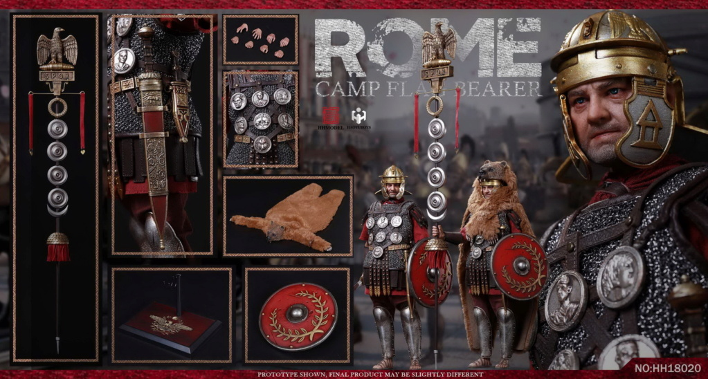 HHModel - NEW PRODUCT: HHMODEL & HAOYUTOYS New product: 1/6 Rome - Camp Flag Bearer Action Figure (#HH18020) 15140311