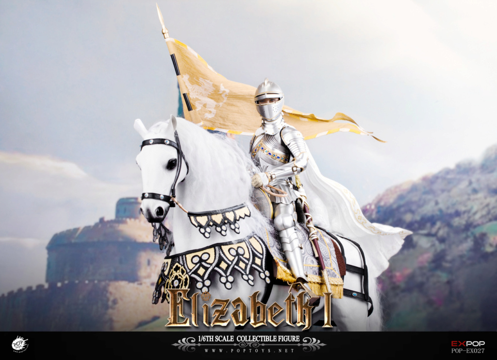 NEW PRODUCT: POPTOYS: 1/6 Queen Elizabeth I Single & Deluxe Edition & War Horse (EX027) 15143910