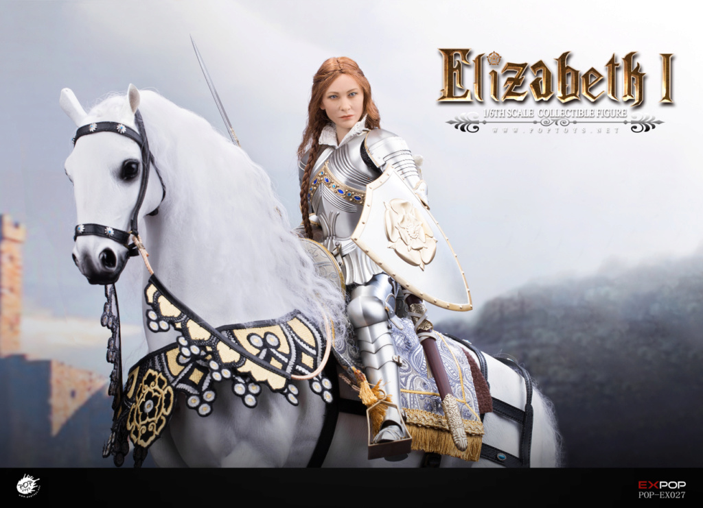 NEW PRODUCT: POPTOYS: 1/6 Queen Elizabeth I Single & Deluxe Edition & War Horse (EX027) 15145910