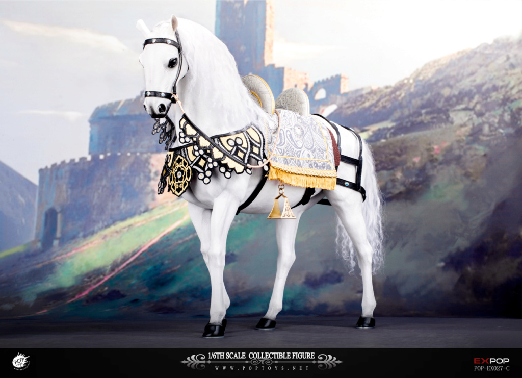 NEW PRODUCT: POPTOYS: 1/6 Queen Elizabeth I Single & Deluxe Edition & War Horse (EX027) 15150510