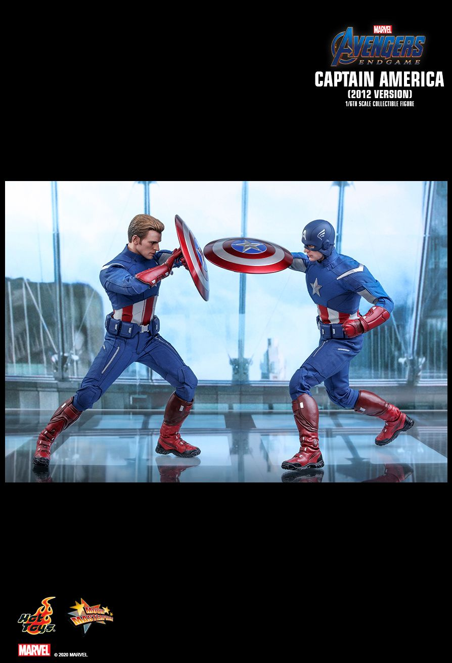 movie - NEW PRODUCT: HOT TOYS: AVENGERS: ENDGAME CAPTAIN AMERICA (2012 VERSION) 1/6TH SCALE COLLECTIBLE FIGURE 15152