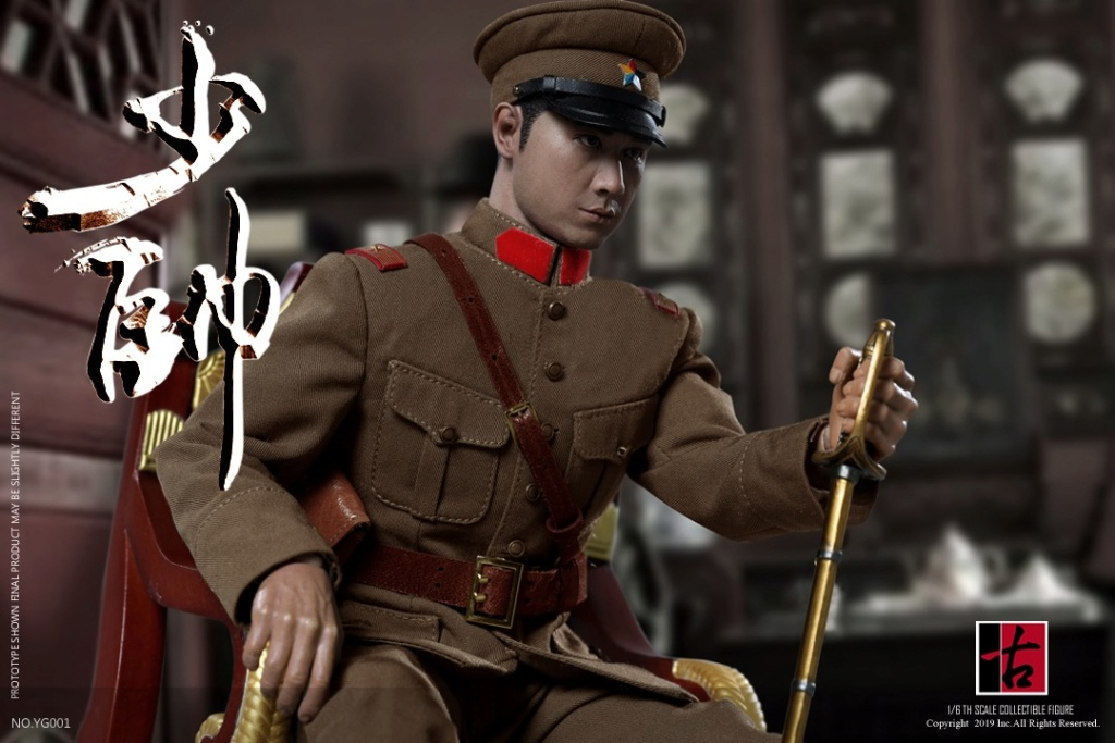 military - NEW PRODUCT: Reading Ancient Hall: 1/6 Half Wall Wolf Smoke - Shaoshuai Moveable Doll - Standard & Deluxe Edition 15152510
