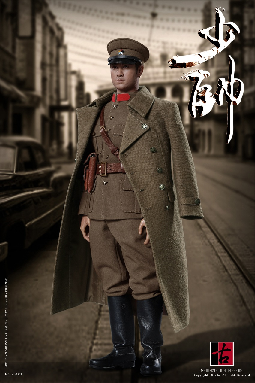military - NEW PRODUCT: Reading Ancient Hall: 1/6 Half Wall Wolf Smoke - Shaoshuai Moveable Doll - Standard & Deluxe Edition 15152810