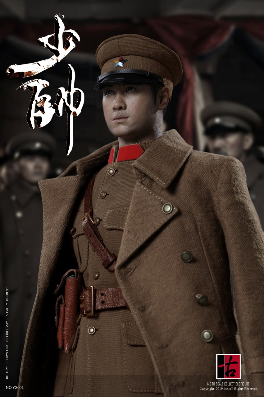 military - NEW PRODUCT: Reading Ancient Hall: 1/6 Half Wall Wolf Smoke - Shaoshuai Moveable Doll - Standard & Deluxe Edition 15152910