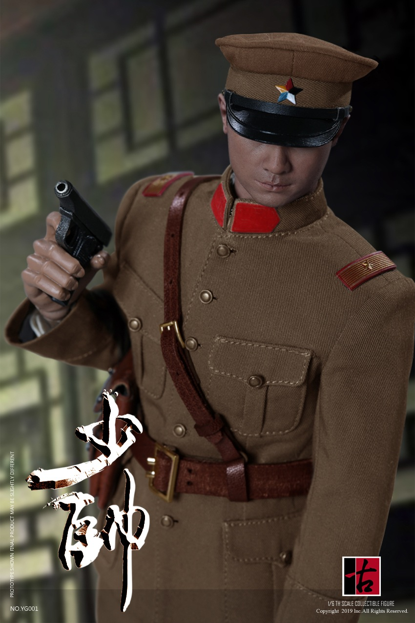military - NEW PRODUCT: Reading Ancient Hall: 1/6 Half Wall Wolf Smoke - Shaoshuai Moveable Doll - Standard & Deluxe Edition 15153010