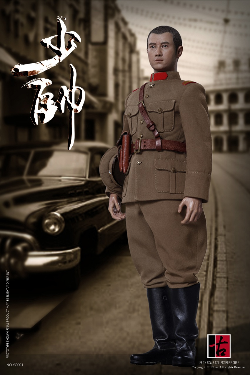 military - NEW PRODUCT: Reading Ancient Hall: 1/6 Half Wall Wolf Smoke - Shaoshuai Moveable Doll - Standard & Deluxe Edition 15153210