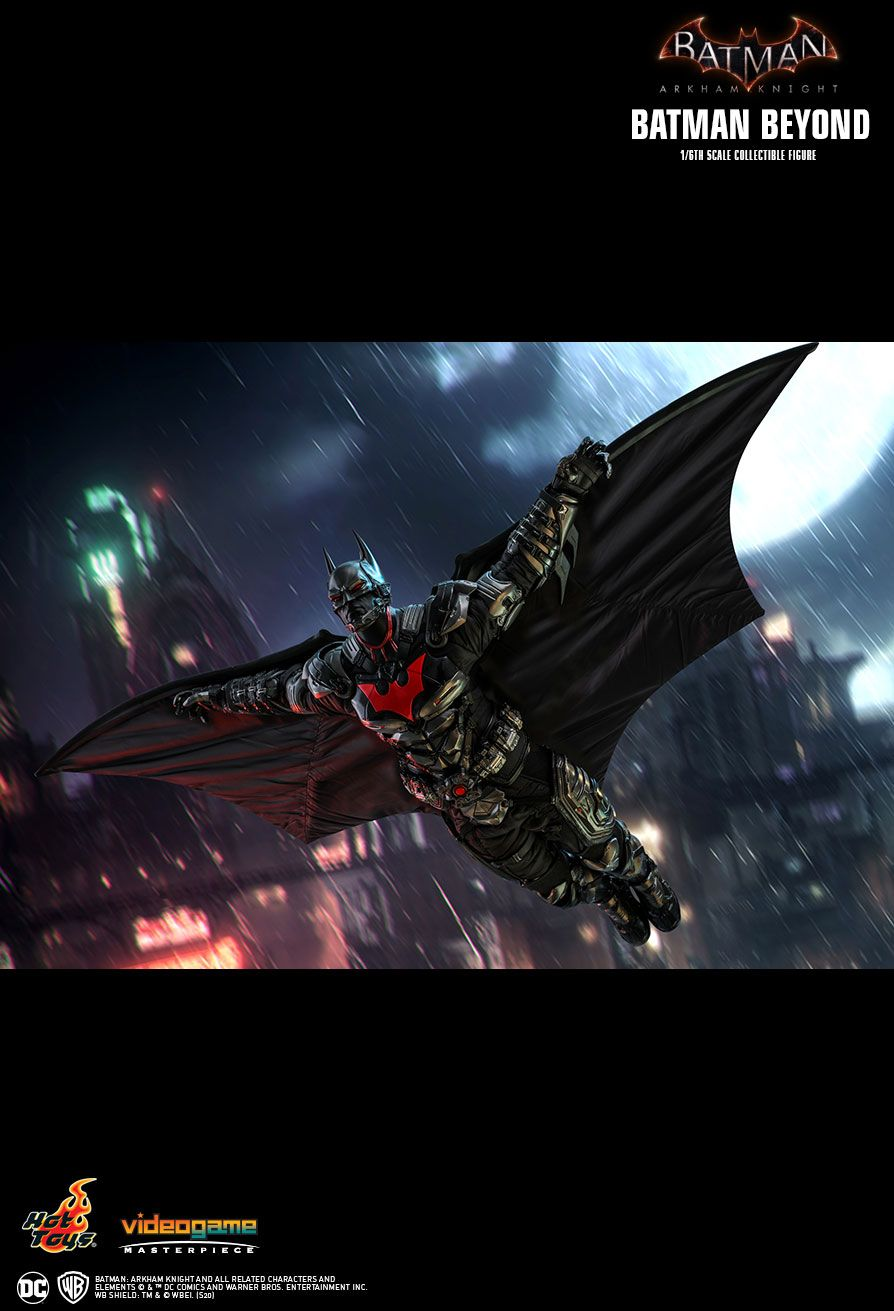 BatmanBeyond - NEW PRODUCT: HOT TOYS: BATMAN: ARKHAM KNIGHT BATMAN BEYOND 1/6TH SCALE COLLECTIBLE FIGURE 15159