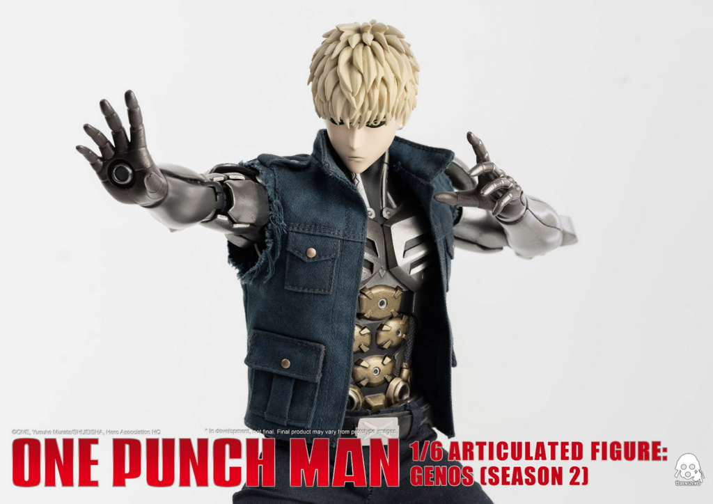 sci-fi - NEW PRODUCT:  ThreeZero: 1/6 Season One Punch-Genos 2.0 Standard & Deluxe Edition 15164510