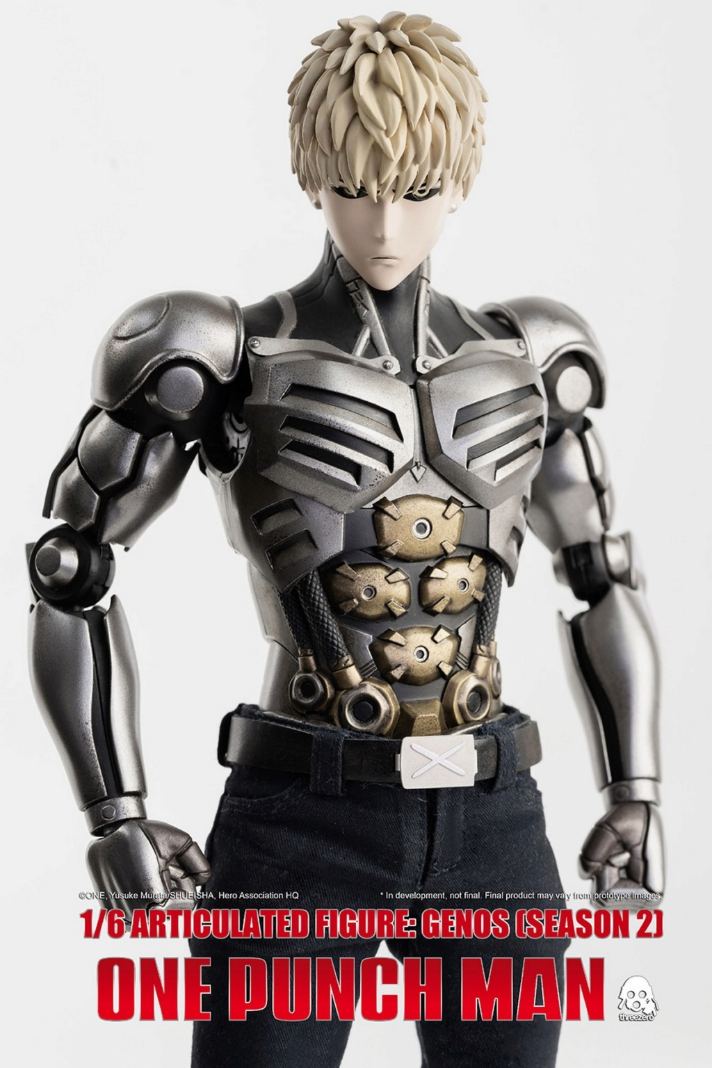 sci-fi - NEW PRODUCT:  ThreeZero: 1/6 Season One Punch-Genos 2.0 Standard & Deluxe Edition 15165110