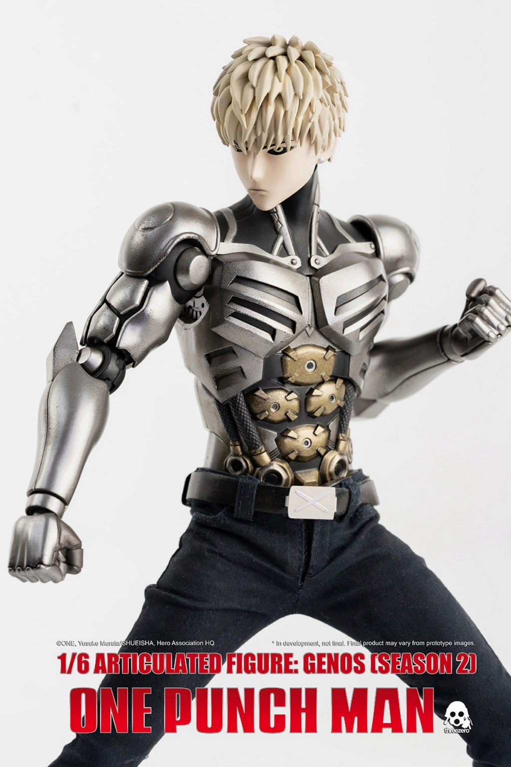 sci-fi - NEW PRODUCT:  ThreeZero: 1/6 Season One Punch-Genos 2.0 Standard & Deluxe Edition 15165710