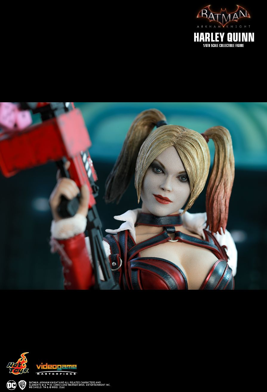 HarleyQuinn - NEW PRODUCT: HOT TOYS: BATMAN: ARKHAM KNIGHT HARLEY QUINN 1/6TH SCALE COLLECTIBLE FIGURE 15170