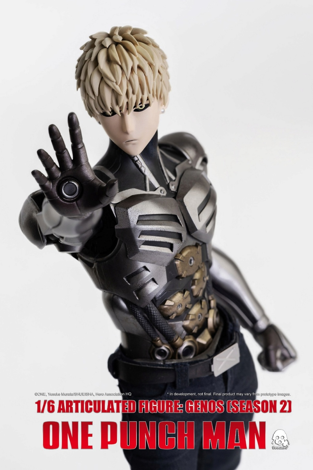 sci-fi - NEW PRODUCT:  ThreeZero: 1/6 Season One Punch-Genos 2.0 Standard & Deluxe Edition 15170110