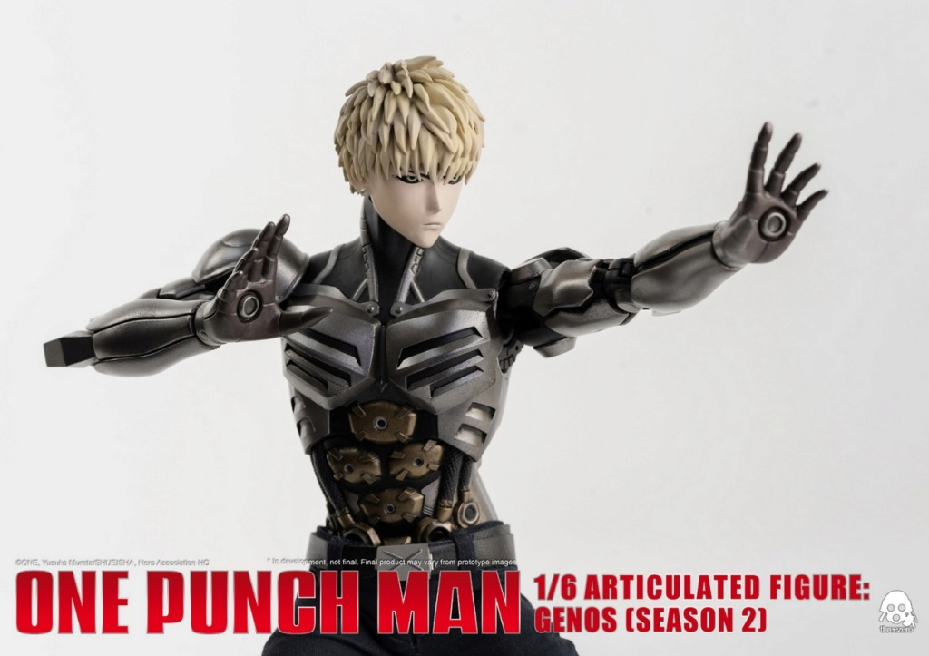 sci-fi - NEW PRODUCT:  ThreeZero: 1/6 Season One Punch-Genos 2.0 Standard & Deluxe Edition 15170610