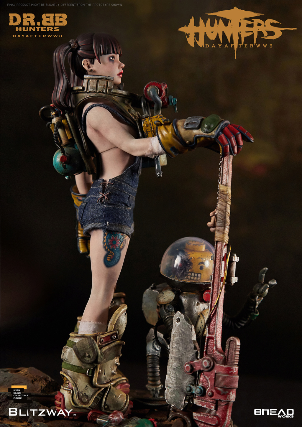 Robot - NEW PRODUCT: Blitzway: 1/6 scale HUNTERS : Day After WWlll: Dr.BB Action Figure 15171