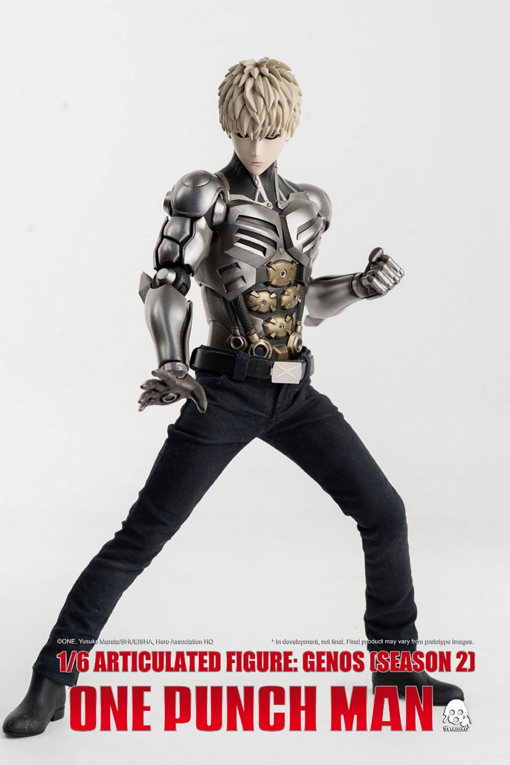 sci-fi - NEW PRODUCT:  ThreeZero: 1/6 Season One Punch-Genos 2.0 Standard & Deluxe Edition 15171010
