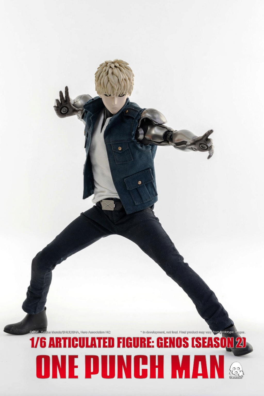 sci-fi - NEW PRODUCT:  ThreeZero: 1/6 Season One Punch-Genos 2.0 Standard & Deluxe Edition 15171810